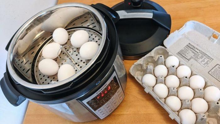 Mơ thấy nhiều trứng gà được hấp trong nồi nên đánh con đề số 54 - 76