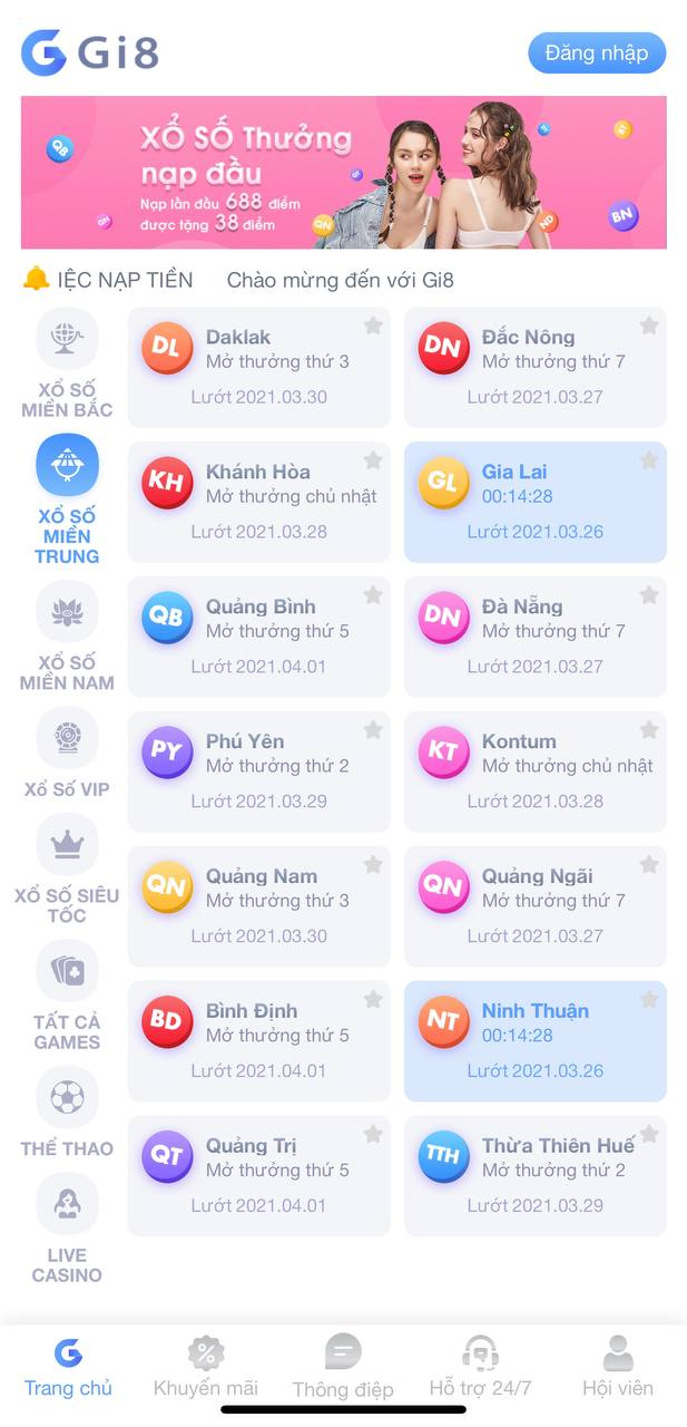 App lô đề online Gi8 uy tín